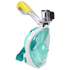 Anti Fog Snorkel Swimming Diving Mask Full Face Surface Scuba for GoPro S/M/L/XL