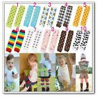 Brand New Babys Legs Leggings Leg Warmers Multiple Patterns and Colors to Choose