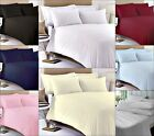400 THREAD COUNT LUXURY 100% EGYPTIAN COTTON FITTED BED SHEETS WHITE CREAM RED