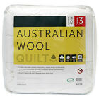 NEW Australian Wool Quilt - High Warmth Rating