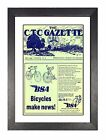 BSA Bicycles 1944 (2) Old Fasioned Vintage Cycling Retro Print Old Advert Poster