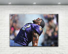 RAY LEWIS PRINT CANVAS BALTIMORE RAVENS on eBay