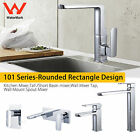 Quality Brass Tall Basin Sink Kitchen Mixer Tapware Wall Faucet Laundry Chrome