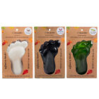 Lilawadee Thai Herbal Luffa Handcrafted Foot Polish Scrubber Foot Shaped Soap