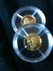 2 x 14ct Gold Coins