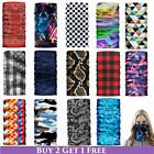 Внешний вид - 1 Face Mask Sun Shield Neck Gaiter Balaclava Neckerchief Bandana Headband SPF40