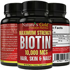 Biotin 10,000 mcg maximum strength (High Potency)Per Softgel Biotin Hair Growth on eBay
