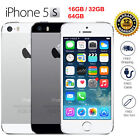 Apple iPhone 5S/5C/4S 4G 16/32/64GB LTE GSM Unlocked Smartphone Gold Silver Gray