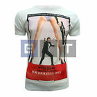 James Bond For Your Eyes Only Poster Inspired Men's Standard or Fitted T-shirt