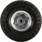 "10"" PNEUMATIC SACK TRUCK TROLLEY WHEEL BARROW TYRE TYRES GARDEN HAND NEW 2/4/10"