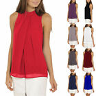 Plus size Women Casual Sleeveless Chiffon Vest Tops  T Shirt Loose Blouse Lot