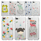 9361-9368 Case Cover for Iphone 7 7+ 5S 5 6 6S/Plus Phone Cases Soft TPU Clear