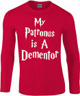 My Patronus Is A Dementor Longsleeve T-Shirt, Harry Potter wizard, Gift Top