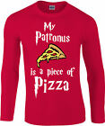 My Patronus Is a Pizza Longsleeve T-Shirt, Harry Potter wizard, Gift Top