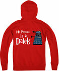 My Patronus Is A Dalek Zipped Hoodie, Exterminate, Dr Who Twelfth Doctor