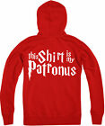 This Shirt Is My Patronus Zipped Hoodie, Harry Potter wizard, Gift Top