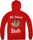 My Patronus Is A Sloth Zipped Hoodie, Harry Potter wizard, Gift Top