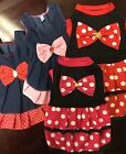 Pet Dog Summer Dresses w/Bow Clothes Puppy Dog - US Seller
