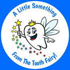 TOOTH FAIRY PERSONALISED GLOSS  GIFT KEEPSAKE PILLOW STICKERS