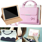 Cute Bowknot Handbag Leather Magnetic Smart Case Cover For Ipad 234 Air Mini Pro
