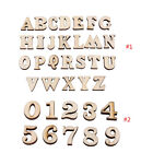 200pc 15mm Wood MDF Letters Numbers Alphabet Kids Baby School Education Toys New