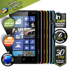 Nokia Lumia 820 8GB Black Grey Red Yellow White Blue Violet Unlocked Smartphone