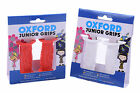 OXFORD CHILDRENS BIKE/CYCLE/BMX HANDLEBAR GRIP RUBBER DOLPHIN GRIPS RED OR WHITE
