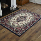 NEW MODERN SMALL NAVY ALPHA LANCASTER RUGS 60x120cm SIZE FOR SALE ONLINE!!