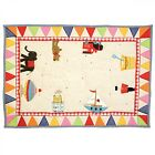 Small / Large Unisex Toy Shop Play Mat / Floor Quilt / Rug by Win Green