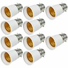 10X MENGS Bayonet BC B22 to E27 ES Edison Screw Light Bulb Socket Converter