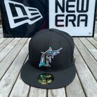 New Era Florida Marlins Fitted Hat Cap 2003 World Series All BLACK on Ebay