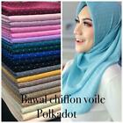 Kyпить Chiffon Maxi Long Party Muslim Scarf/Wrap with glitters and rhinestones 180x80cm на еВаy.соm