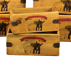 French Bulldog & Pug Vintage Box Dog Treats Great Gift Storage Crate Single