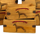 Whippet Wooden Box Great Whippet Lover Gift Vintage Storage Crate Single