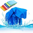 Sports Exercise Sweat Summer Ice Cold Towel PVA Hypothermia Cooling Towel