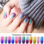v.t.s Temperature Color Change Soak off uv Nail Gel Polish Thermal Gel 48 Colors