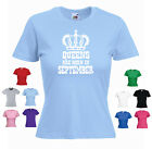 --- 'Queens are Born in September' --- Funny tshirt Ladies Girls Gift T-shirt
