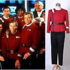 FAST SHIP 4pcs Star Trek II-VI Wrath of Khan Starfleet Halloween Costume