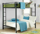 cheap tanning beds for sale - Metal Bunk Bed Frame Full Over Full Size Kids Teen Loft Ladder On Sale Cheap