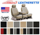 Coverking Leatherette Custom Seat Covers for Nissan Versa