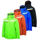Dare2b Assert Mens Waterproof Padded Insulated Hooded Ski Jacket Black