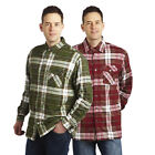 Regatta Lumbar Mens Sherpa Lined Winter Checked Shirt