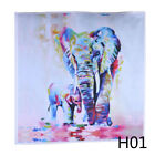 Air Brush Two Elephant Living Room Wall Decor Landscape Unframed Painting Canvas
