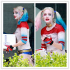 Women T-Shirt  Halloween Suicide Squad Harley Quinn Cosplay Cos Lil Monster