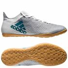adidas X 17.3  Tango IN Indoor  2017 Soccer Shoes White / Turquoise Brand New