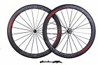 700C Powerway R36 Bicycle Carbon Wheels 50mm Depth Clincher Carbon Wheelset