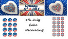 Cake Decorations 4TH JULY THEMED Sprinkles Toppings Vermicelli Edible Images!