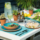 MEDITERRANEAN STYLE MELAMINE TABLEWARE - Outdoor Dining, Picnic, Camping, BBQ