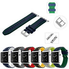 Soft Silicon Replacement Watch Strap Band for Apple Watch Series 7 SE 6 5 4 3 2