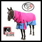 LOVE MY HORSE 1200D 300g 4'9 - 6'9 Waterproof Ripstop Winter Combo Pink Blue